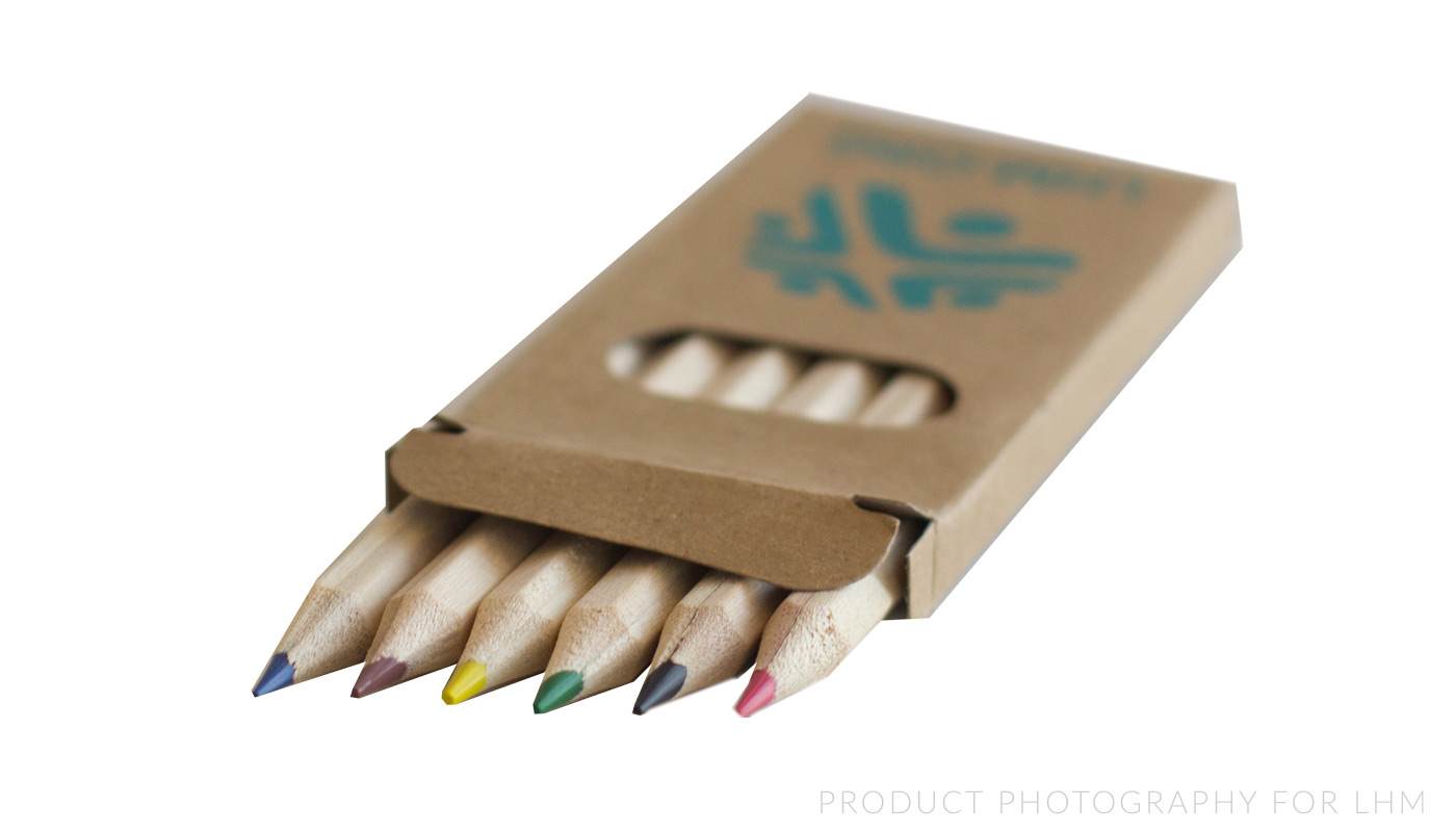 Product Photography - Pencils